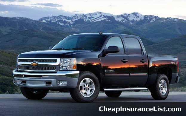 Cheap Cars To Insure Chevrolet Silverado 1500