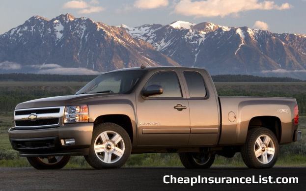Cheap Cars To Insure Chevrolet Silverado Extended Cab
