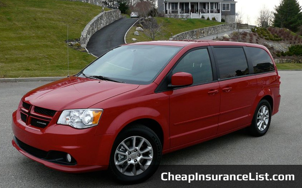 Cheap Cars To Insure Dodge Grand Caravan SXT