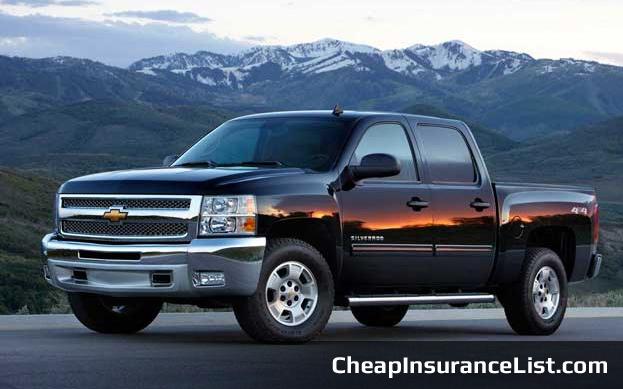 Cheap Cars To Insure Chevrolet Silverado 1500