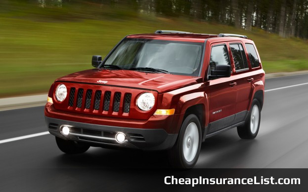 Cheap Cars to Insure Jeep Patriot